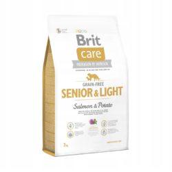 BRIT CARE GRAIN FREE SENIOR LIGHT SALMON POTATO 3 KG