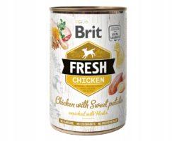 BRIT FRESH CHICKEN WITH SWEET POTATO 400 g