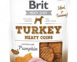 BRIT MEATY JERKY TURKEY MEATY COINS 80 g