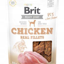 BRIT MEATY JERKY CHICKEN REAL FILLETS 80 g