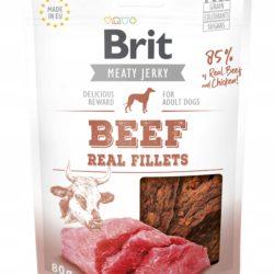 BRIT MEATY JERKY BEEF REAL FILLETS 80 g