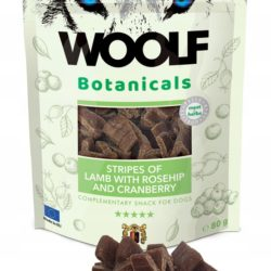 WOOLF BOTANICALS STRIPES OF LAMB WITH ROSEHIP 80 g