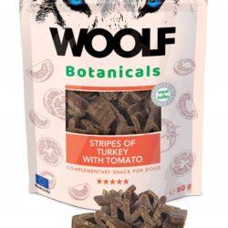 WOOLF BOTANICALS STRIPES OF TURKEY WITH TOMATO 80 g