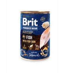 BRIT PREMIUM BY NATURE FISH WITH FISH SKIN 800 g