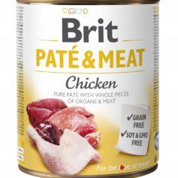 BRIT PATE & MEAT CHICKEN 800 g