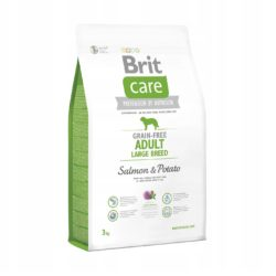 BRIT CARE GRAIN FREE ADULT LARGE BREED SALMON 3 KG