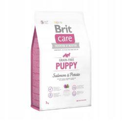 BRIT CARE GRAIN FREE PUPPY SALMON POTATO 3 KG