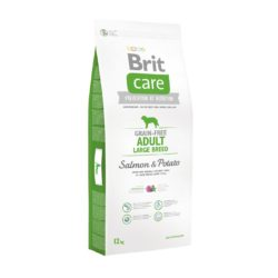 BRIT CARE GRAIN FREE ADULT LARGE BREED SALMON 12 KG