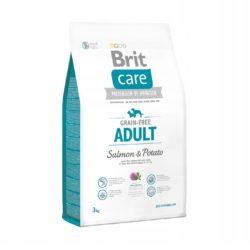 BRIT CARE GRAIN FREE ADULT SALMON POTATO 3 KG