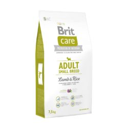BRIT CARE ADULT SMALL BREED LAMB RICE 7,5 KG