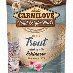 CARNILOVE CAT POUCH TROUT ECHINACEA 85 g