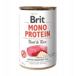 BRIT MONO PROTEIN BEEF RICE 400 g