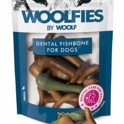 WOOLF DENTAL FISHBONE SMALL FOR DOGS 200 g