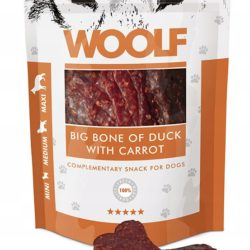 WOOLF BIG BONE OF DUCK WITH CARROT 100 g