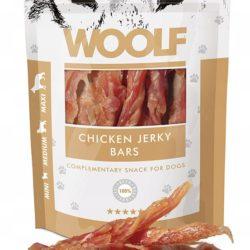 WOOLF CHICKEN JERKY BARS 100 g