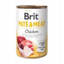 BRIT PATE & MEAT CHICKEN 400 g