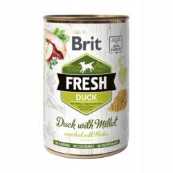 BRIT FRESH DUCK WITH MILLET 400 g