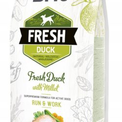 BRIT FRESH DUCK WITH MILLET ACTIVE DOGS 2,5 KG