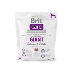 BRIT CARE GRAIN FREE GIANT SALMON & POTATO 1 KG