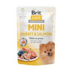 BRIT CARE MINI RABBIT & SALMON 85 g