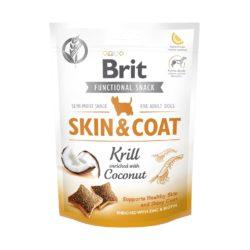 BRIT CARE FUNCTIONAL SNACK SKIN COAT KRILL 150 g