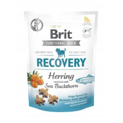 BRIT CARE FUNCTIONAL SNACK RECOVERY HERRING 150 g