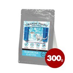 GRANDE PASTO GRAIN FREE SARDIGNA GATTO ŁOSOŚ 300 g