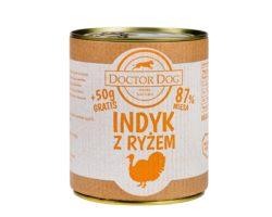 DOCTOR DOG INDYK 800 g + 50 g GRATIS