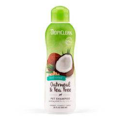 Tropiclean Oatmeal & Tea Tree Medicated szampon 355 ml