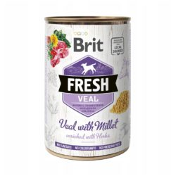 BRIT FRESH VEAL WITH MILLET 400 g