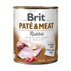 BRIT PATE & MEAT RABBIT 800 g