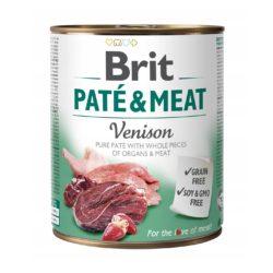 BRIT PATE & MEAT VENISON 800 g