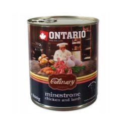 ONTARIO CULINARY MINESTRONE CHICKEN LAMB 800 g