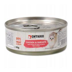 ONTARIO CHICKEN SHRIMPS KITTEN 95 g